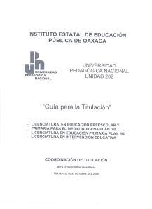 GUÍA DE TITULACIÓN